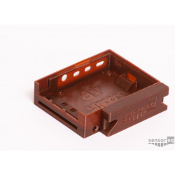 CooliPi 4B Case - Brown